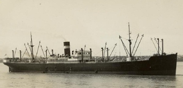 SS Coracero, (Steam Cargo Ship)