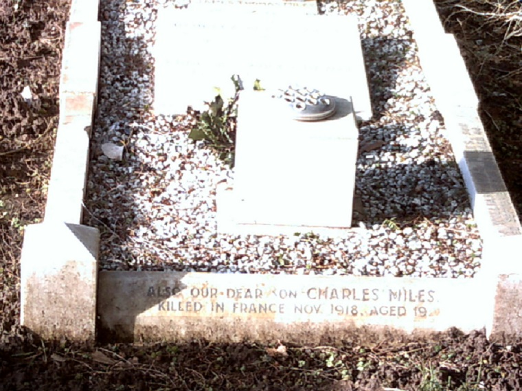Private Charles A H Miles